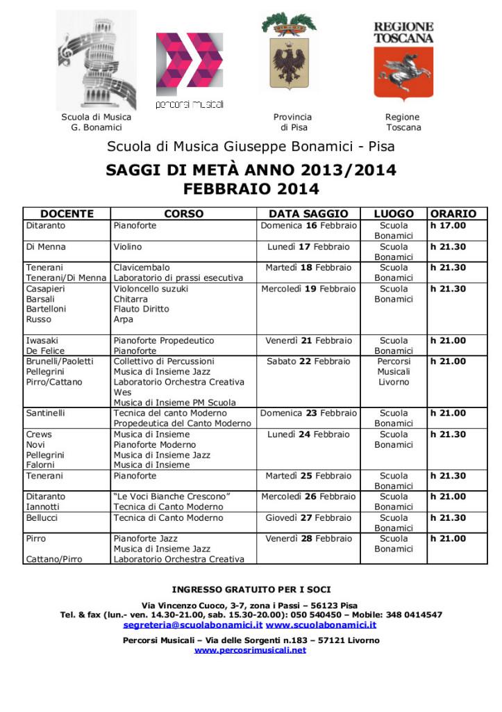 CalendarioSaggiFebbraio2014