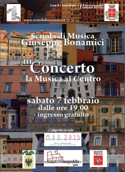 La Scuola Bonamici in Concerto alla Leopolda