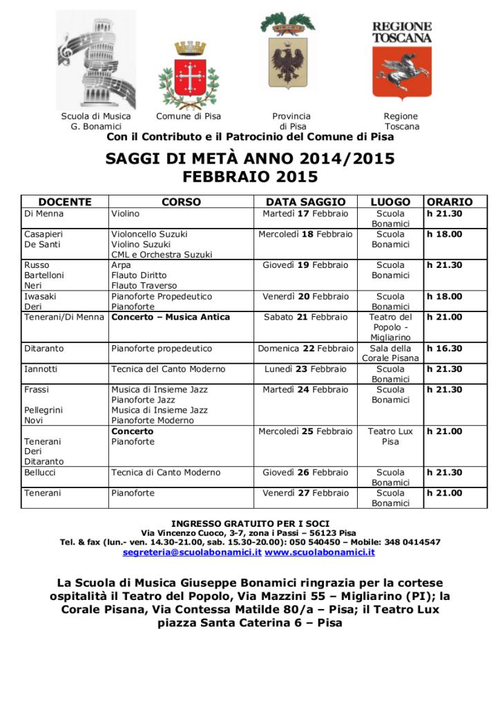 Saggi-Febbraio-2015