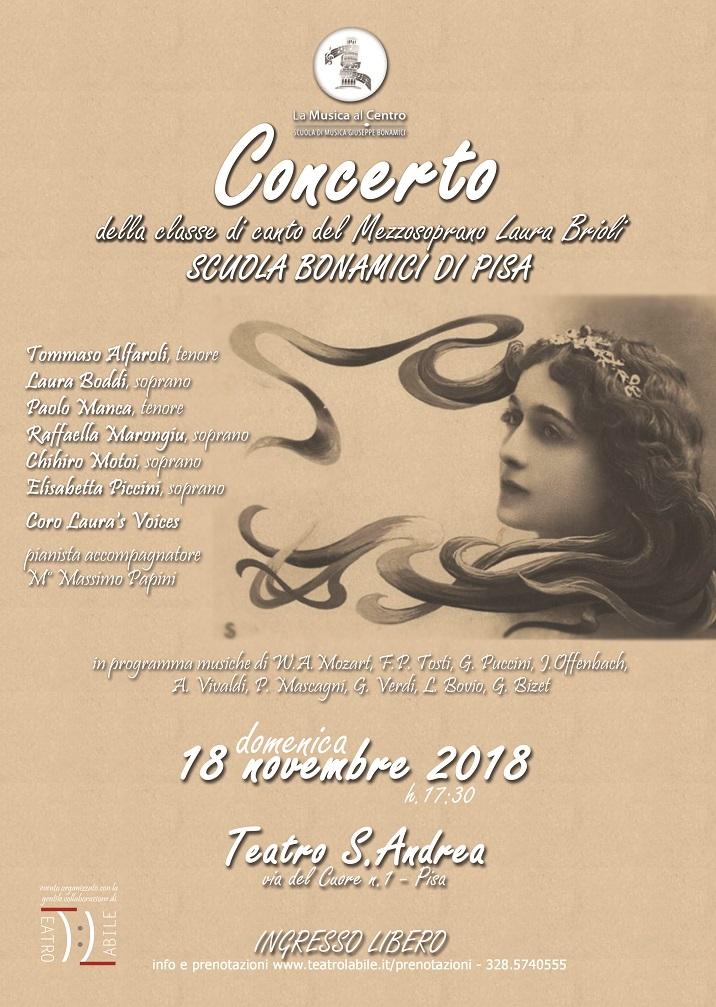 Concerto della Classe di Canto Lirico