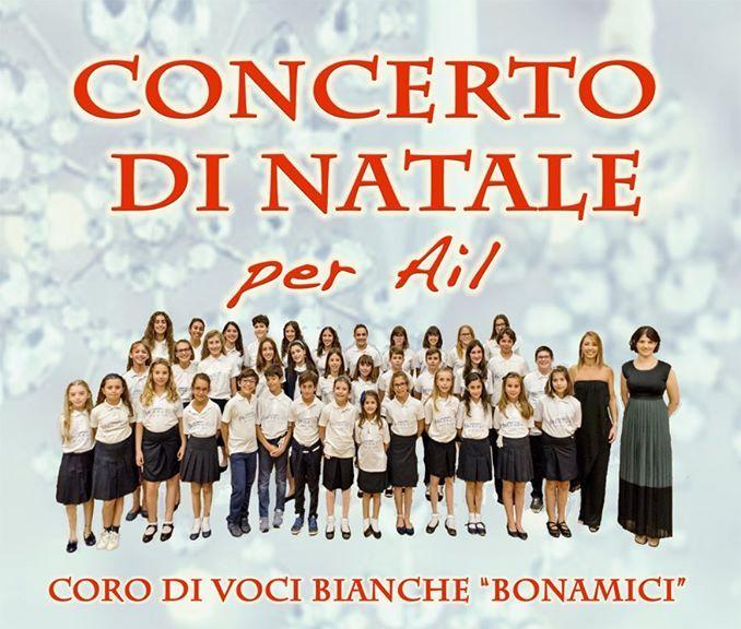 Concerto di Natale per AIL del Coro di Voci Bianche Bonamici