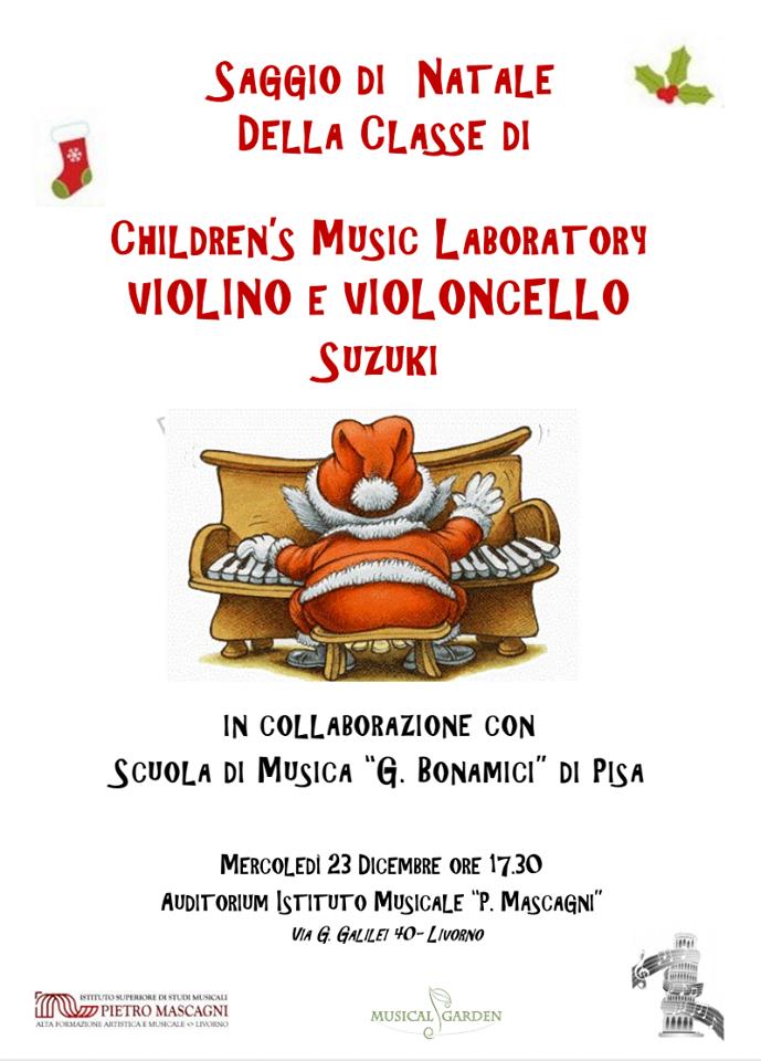 Saggio di Natale di Violino e Violoncello Suzuki
