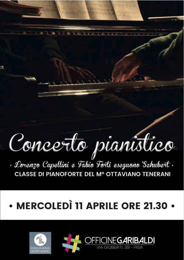 Concerto Pianistico alle Officine Garibaldi