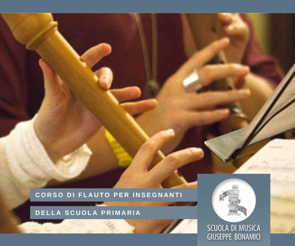 Corso di flauto dolce per insegnanti della scuola primaria