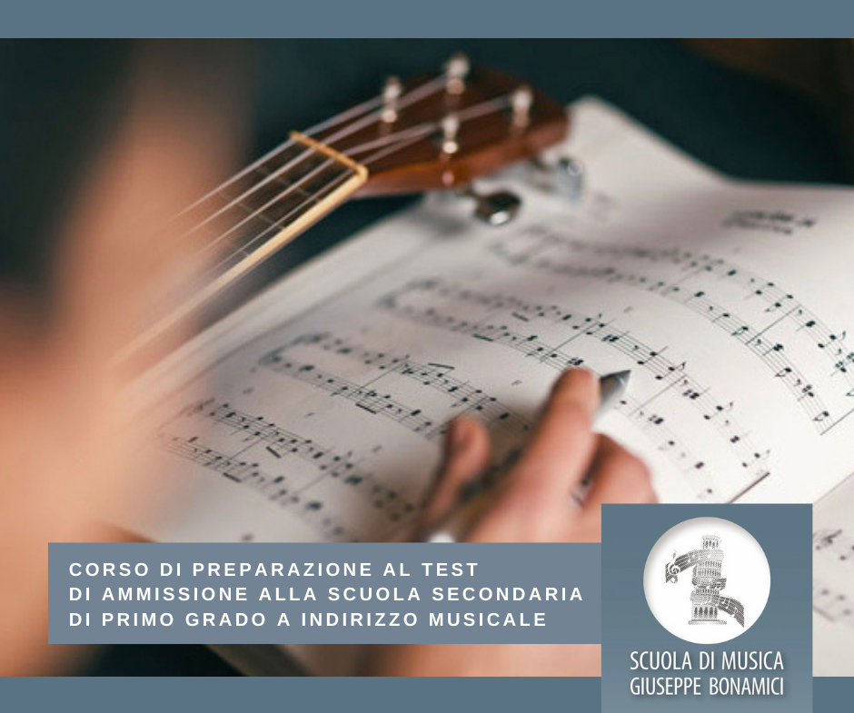Corso di preparazione al test della secondaria di 1° grado a indirizzo musicale