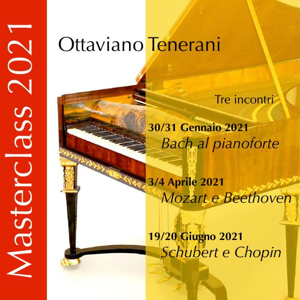 Masterclass con il M.° Tenerani: Tre incontri con il pianoforte