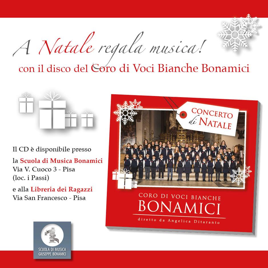 Il Coro di Voci Bianche Bonamici canta il Natale